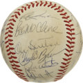 Autographs:Baseballs, 1984 Milwaukee Brewers Team Signed Baseball. Hall of Famers RobinYount, Paul Molitor, Rollie Fingers and Don Sutton are jo...