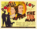 "Movie Posters:Mystery, After the Thin Man (MGM, 1936). Title Lobby Card and Lobby Card(11"" X 14""). ... (Total: 2 Items)"