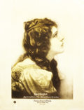 "Movie Posters:Miscellaneous, Mary Pickford Portrait (Famous Players Film Corp, 1910s). Litho on Paper. (10.5"" x 13.75"")...."
