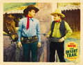 "Movie Posters:Western, The Desert Trail (Monogram, 1935). Lobby Cards (2) (11"" X 14""). ... (Total: 2 Items)"