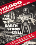 Movie Posters:Science Fiction, The Day the Earth Stood Still (20th Century Fox, 1951). Pressbook(Multiple Pages). ...