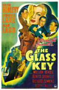 "Movie Posters:Film Noir, The Glass Key (Paramount, 1942). One Sheet (27"" X 41"") Style A. ..."