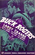 "Movie Posters:Science Fiction, Buck Rogers (Universal, 1939). Pressbook (11.5"" X 17.5""). ScienceFiction...."