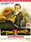 "Movie Posters:James Bond, Goldfinger (United Artists, 1964). French Grande (47"" X 63"")...."