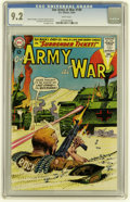 Silver Age (1956-1969):War, Our Army at War #149 (DC, 1964) CGC NM- 9.2 White pages....