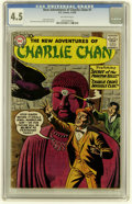 Silver Age (1956-1969):Mystery, The New Adventures of Charlie Chan #1 (DC, 1958) CGC VG+ 4.5Off-white pages....