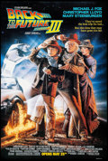 "Movie Posters:Science Fiction, Back to the Future Part III (Universal, 1990). One Sheet (26.75"" X39.75"") DS Advance. Science Fiction.. ..."