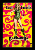 "Memorabilia:Poster, Barbarella Argentinean Movie Poster (Paramount, 1968)One-Sheet (28.5"" x 43.5"")...."