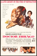 "Memorabilia:Poster, Doctor Zhivago Re-Release Movie Poster (MGM Studios, 1971)One-Sheet (27"" x 41"")...."