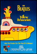 """Movie Posters:Animation, Yellow Submarine (United Artists, R-1999). Video One Sheet (27"""" X40"""") SS. Animation.. ..."""