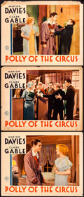 "Movie Posters:Drama, Polly of the Circus (MGM, 1932). Lobby Cards (3) (11"" X 14"").Drama.. ... (Total: 3 Items)"