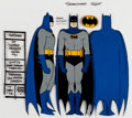 Animation Art:Color Model, Super Friends Hour Batman Color Model (Hanna-Barbera, 1973)....