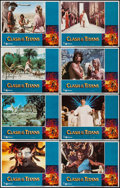 """Movie Posters:Fantasy, Clash of the Titans (MGM, 1981). Lobby Card Set of 8 (11"""" X 14""""). Fantasy.. ... (Total: 8 Items)"""