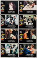 "Movie Posters:Hitchcock, Frenzy (Universal, 1972). Lobby Card Set of 8 (11"" X 14"").Hitchcock.. ... (Total: 8 Items)"