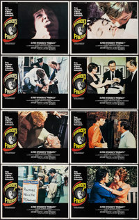 """Frenzy (Universal, 1972). Lobby Card Set of 8 (11"""" X 14""""). Hitchcock. ... (Total: 8 Items)"""
