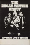 "Movie Posters:Rock and Roll, The Edgar Winter Group (1970s). Stock Concert Poster (22"" X 33""). Rock and Roll.. ..."