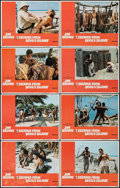 "Movie Posters:Action, I Escaped from Devil's Island & Other Lot (United Artists,1973). Lobby Card Sets of 8 (2 Sets) (11"" X 14""). Action.. ...(Total: 16 Items)"