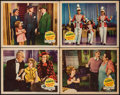 "Movie Posters:Musical, The Poor Little Rich Girl (20th Century Fox, 1936). Lobby Cards (4)(11"" X 14""). Musical.. ... (Total: 4 Items)"