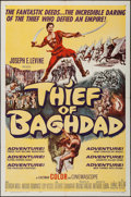 "Movie Posters:Fantasy, Thief of Baghdad (MGM, 1961). One Sheet (27"" X 41""). Fantasy.. ..."