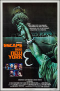 "Movie Posters:Science Fiction, Escape from New York (Avco Embassy, 1981). One Sheet (27"" X 41"") Advance. Science Fiction.. ..."