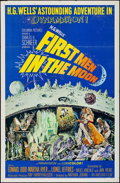 """Movie Posters:Science Fiction, First Men in the Moon (Columbia, 1964). One Sheet (27"""" X 41"""").Science Fiction.. ..."""
