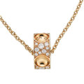 Estate Jewelry:Pendants and Lockets, Diamond, Gold Pendant-Necklace, Louis Vuitton, French. ...