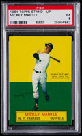 Baseball Cards:Singles (1960-1969), 1964 Topps Stand-Up Mickey Mantle PSA EX 5....
