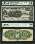 Canadian Currency: , Winnipeg, MB- The Northern Bank $10 Nov. 1, 1905 Ch. # 540-10-04PFace and Back Proofs.. ...