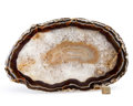 Lapidary Art:Carvings, Agate Slab. Brazil. 14.96 x 8.86 x 1.31 inches (38.00 x 22.50 x3.33 cm). ...