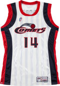 Basketball Collectibles:Uniforms, 1999-2000 Cynthia Cooper Game Worn Houston Comets Jersey. ...