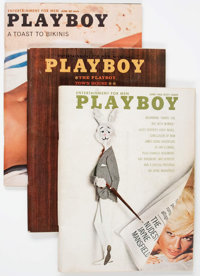 Playboy May 1962 - February 2016 Complete Range Group (HMH Publishing, 1962-2016).... (Total: 17 Box Lots)