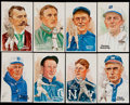 Baseball Collectibles:Others, Baseball Hall of Famers Perez Steele Postcards Lot of 40+....
