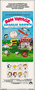 """Movie Posters:Animation, Bon Voyage, Charlie Brown (Paramount, 1980). Insert (14"""" X 36""""). Animation.. ..."""
