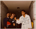 Boxing Collectibles:Autographs, 1978 Muhammad Ali Signed Photograph....