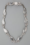 Silver Smalls:Other , A Margot de Taxco Silver Necklace, Taxco, Mexico, circa 1948-1978.Marks: MARGOT DE TAXCO, 5120, STERLING, MADE IN MEXICO,...