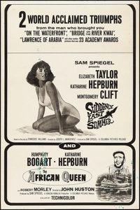 """Suddenly, Last Summer/The African Queen Combo & Others Lot (Columbia, 1960). Posters (16) (40"""" X 60"""")..."""