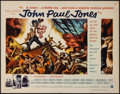 "Movie Posters:War, John Paul Jones (Warner Brothers, 1959). Half Sheet (22"" X 28"").War.. ..."