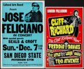 "Movie Posters:Rock and Roll, Cliff Richard at the London Palladium & Other Lot (LouisBenjamin & Leslie Grade, 1973). British Concert Poster (12.5"" X20""... (Total: 2 Items)"