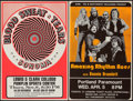 Movie Posters:Rock and Roll, Blood Sweat & Tears with Sonoma at the Lewis & Clark College Pamplin Sports Center & Other Lot (Northwest Releasing, 1973). ... (Total: 2 Items)