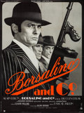 "Movie Posters:Crime, Borsalino (Medusa, 1970). French Grande (46"" X 62""). Crime.Alternate Title: Borsalino and Co.. ..."