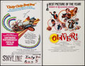 """Movie Posters:Fantasy, Chitty Chitty Bang Bang & Other Lot (United Artists, 1969). Window Cards (2) (14"""" X 22""""). Fantasy.. ... (Total: 2 Items)"""