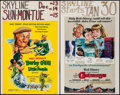 """Movie Posters:Fantasy, Darby O'Gill and the Little People & Others Lot (Buena Vista,1959). Window Cards (7) (14"""" X 22""""). Fantasy.. ... (Total: 7 Items)"""