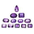 Estate Jewelry:Unmounted Gemstones, Unmounted Amethyst. . ...