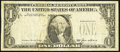 Error Notes:Third Printing on Reverse, Fr. 1913-L $1 1985 Federal Reserve Note. Fine.. ...