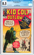 Silver Age (1956-1969):Western, Kid Colt Outlaw #114 (Atlas/Marvel, 1964) CGC VF+ 8.5 Off-white towhite pages....
