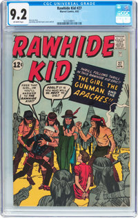 Rawhide Kid #27 (Marvel, 1962) CGC NM- 9.2 Off-white pages