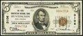 National Bank Notes:West Virginia, Huntington, WV - $5 1929 Ty. 1 The First Huntington NB Ch. # 3106. ...