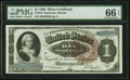 Large Size:Silver Certificates, Fr. 219 $1 1886 Silver Certificate PMG Gem Uncirculated 66 EPQ.....