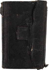 Union Soldier's Diary of Private Albert Slater, 105th Ohio Infantry