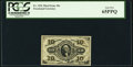 Fractional Currency:Third Issue, Fr. 1256 10¢ Third Issue PCGS Gem New 65PPQ.. ...